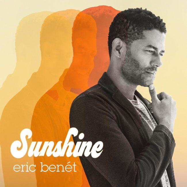 Sunshine Eric Benet Album Cover by Top Photographer, Michael Roud