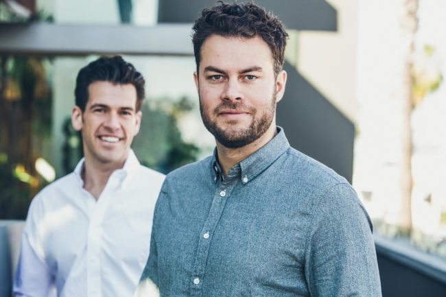 Commercial Headshot of Two Business Owners in LA