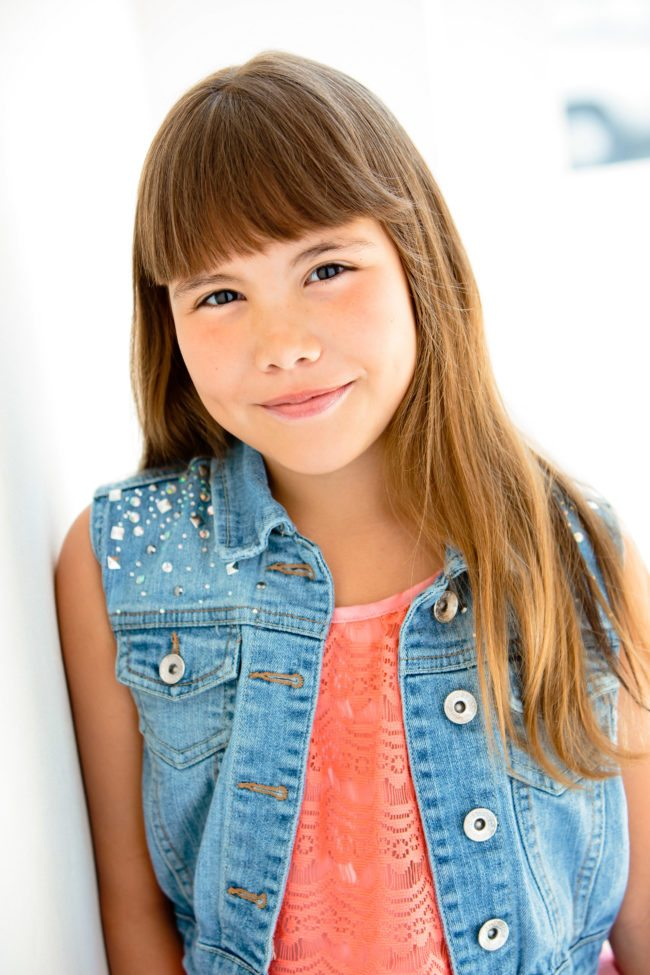 Bella Bracken Child Actress photographed by Michael Roud Photography in Los Angeles
