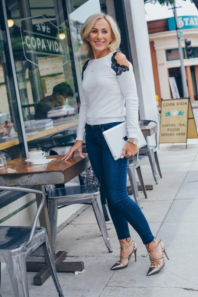 Stylish Los Angeles Woman Lifestyle Photograph