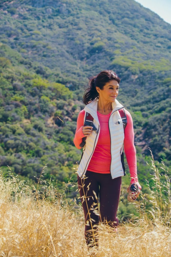 Los Angeles Woman Hiking in Lifestyle Headshot