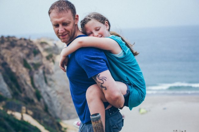 Family Lifestyle Photographer Michael Roud Captures Father and Daughter