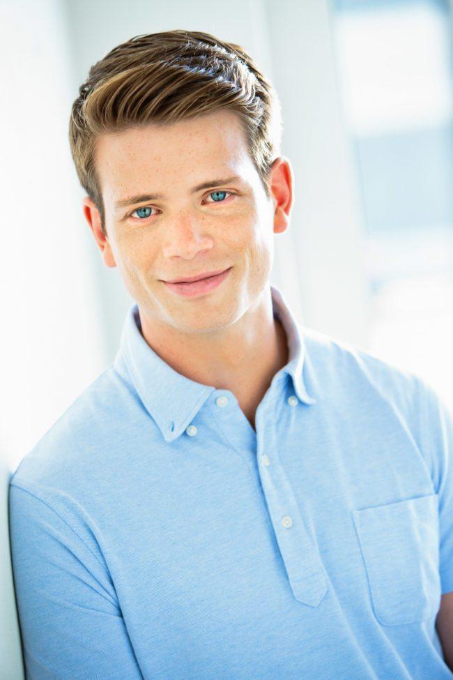 Tristan Jennings in Blue by MRP in Los Angeles