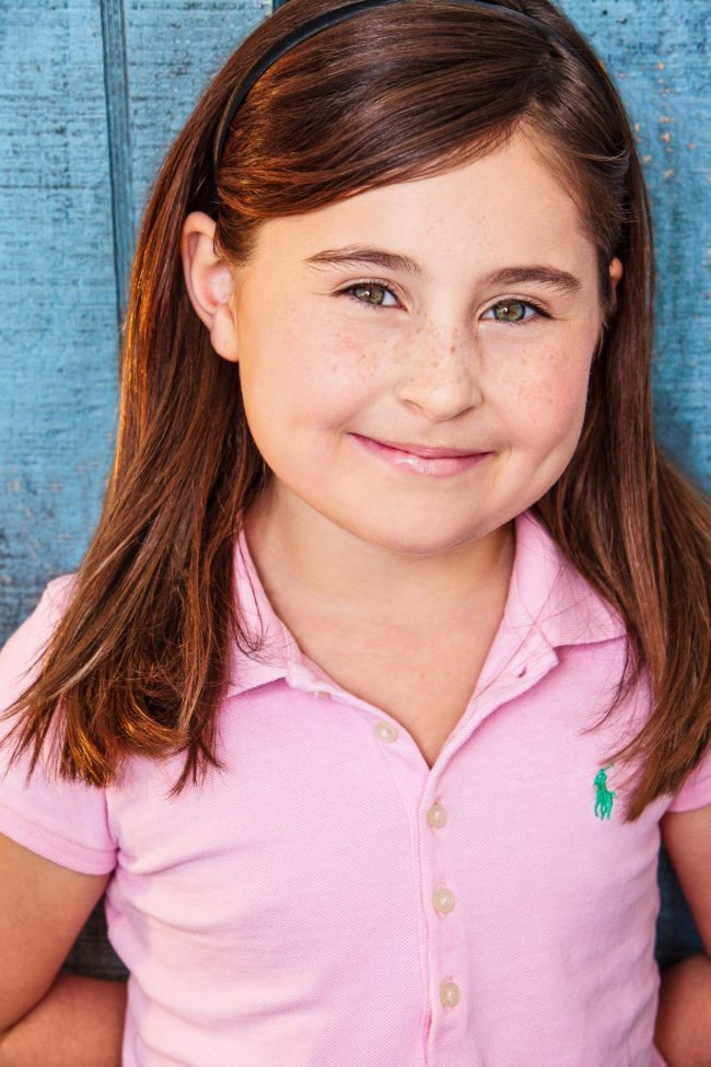 Smiling Girl in Pink, LA Children's Headshots