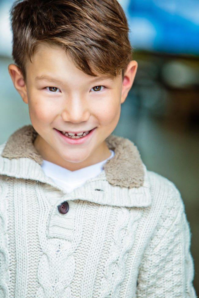 Childrens Headshot by Top LA Kids Photographer, Michael Roud
