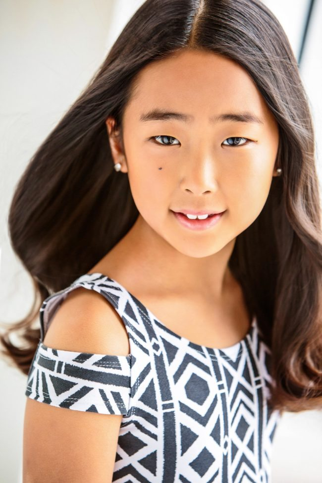 Childrens Acting Headshot by LA Photographer Michael Roud
