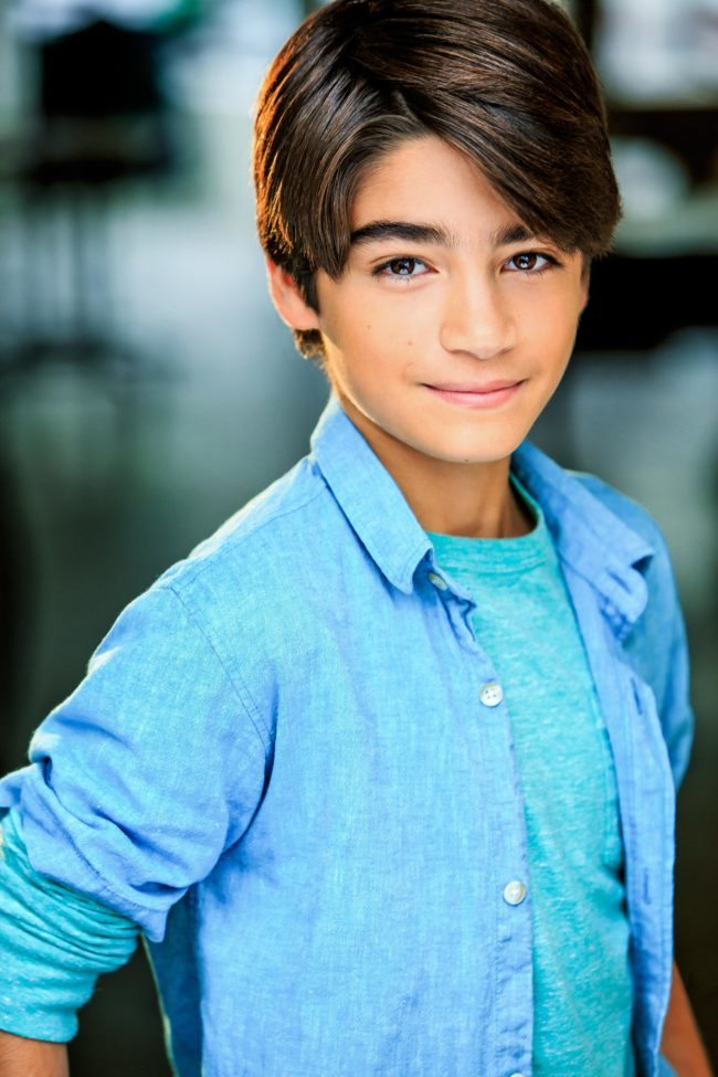 Headshot of a Handsome Teen by Top Headshot Photographer in LA