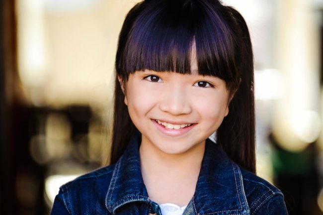 Youth Headshots in LA, Smiling Girl