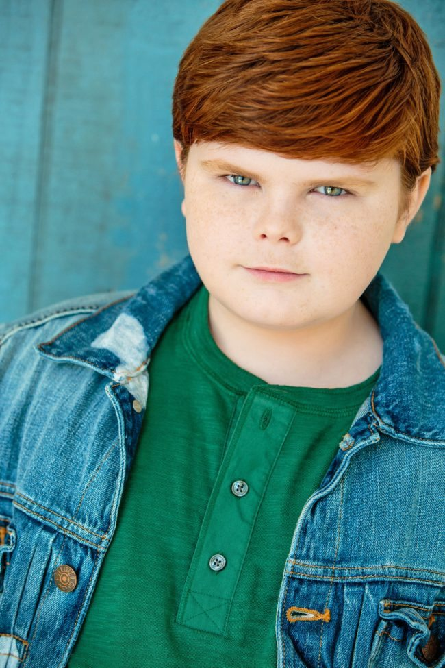 Headshot of Grayson Kilpatrick by Top Kids Headshot Photographer Michael Roud